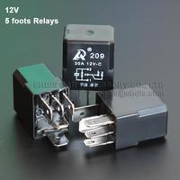 Violet automotive relay 12v 5 foots fog lamp oil pump refires relay