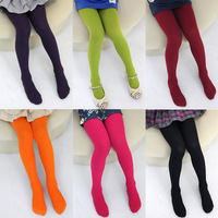 2014 spring and autumn candy color girls clothing child pantyhose legging
