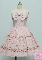 on sale free shipping Sweets lolita dress gorgeous royal milk rabbit one-piece dress