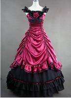 Lolita princess long design tube top quality royal banquet evening dress formal dress one-piece dress customize  hot
