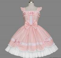 newest! free shippiong Lolita princess dress elegant 100% cotton butterfly sleeve one-piece dress customize  hot