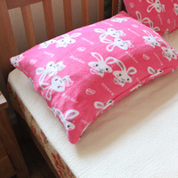Double faced coral fleece pillow case single pillow sets pillow 50 70 duvet cover fitted