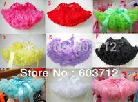 Fashion new arrival high quality factory fluffy pettiskirts girl's tutu skirts princess petticoat wholesale free shipping