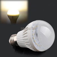 [New] 7W E27 27 SMD2835 LED lamps Warm/Cold White Home decor Energy Efficient Bulb Lamp 220V lights & lighting 19630