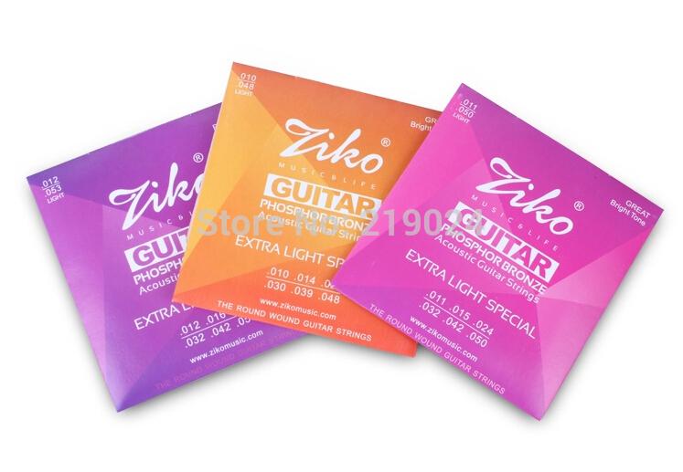 Elixir 11002 Nanoweb ultra thin coating Acoustic guitar strings Extra Light .010--.047(China (Mainland))