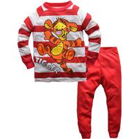 100% cotton 1pc retail 2-7 years home sets child sports suit children's sport suit