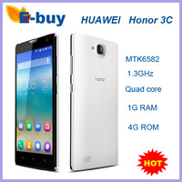 HUAWEI Honor 3C Smartphone MTK6582 Quad Core 5.0 Inch HD OGS Screen 5.0MP Front Camera 2300mAh