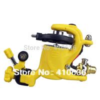 HOT SALE-Rotary Tattoo Machine Gun Swashdrive Gen 8 Dragonfly Style 10 Watt Strong Motor M628-3 yellow