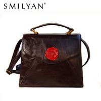 Smilyan women's handbag bag soft HARAJUKU amo 3ways vintage postmarked bag new arrival 2014 shoulder bag
