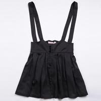 Spring and autumn edd28509 high waist bust skirt braces skirt plus size pleated slim dress all-match short skirt