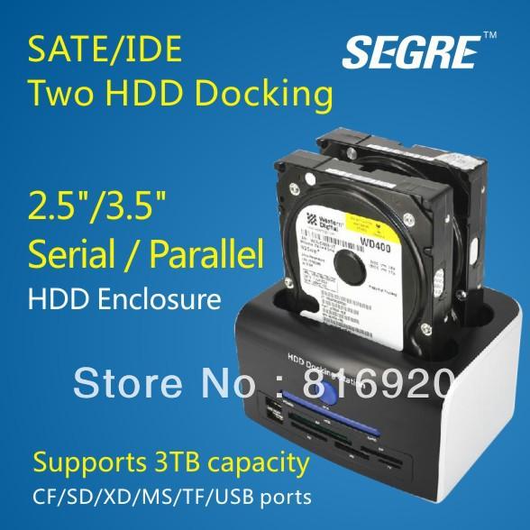 """2,5""""/3.5"""" hard disk drive recinzione di hdd 2,5""""SATA recinzione esterna parti spedizione gratuita."""