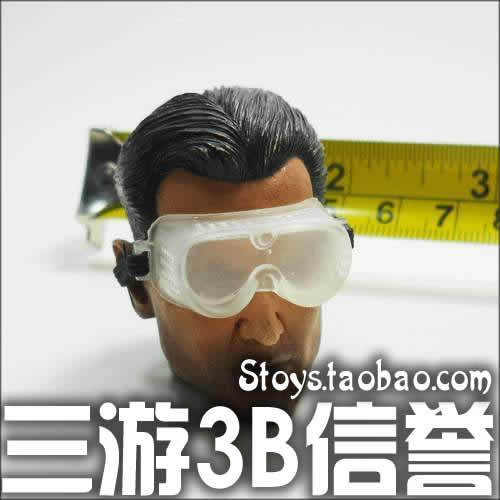 Trend modern transparent gogglse goggles carving(China (Mainland))