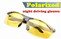 New 2014 Brand Night Vision Goggles Glasses Night Driving Mirror Polarized Sunglasses Women Fashion Glasses+Box Free shipping