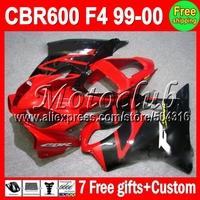 Fairing For HONDA MMC72 F4I FS 7gifts CBR600 F4i CL156 CBR600F4i red black CBR 600 F4i 600F4i 01 02 03 2001 2002 2003 Hot