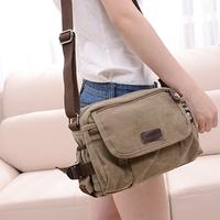 New 2014 new canvas bag shoulder bag Messenger bag free shipping