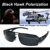 =BLACK HAWK=LUXURY ARMY DRIVER TAC enhanced polarized polaroid polarised golf ski UV 400 Men's sunglasses with test card