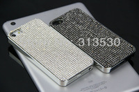2014 Handmad Bilng Mosaic Rhinestone Made With Swarovski Element Crystal Cell Phone Cover Case For iPhone 5 5S Free Shipping