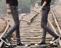 2013 spring and autumn slim jeans pants male vintage skinny jeans pencil pants male