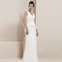 Creative tocsins new arrival fairy double-shoulder elegant evening dress star evening dress evening dress 30166