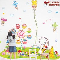 Large cartoon wall sticker wall stickers child room decoration
