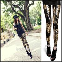 New arrival 2013 fashion serpentine pattern splash-ink gradient plus size available autumn legging