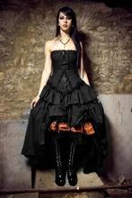 Vampire Cross Corset Black