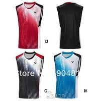 wholesale!2014 South Korea VICTOR  Men's Shirt /Tennis Clothes /Casual Shirts / Sports Clothes / Table Tennis Shirt Clothes