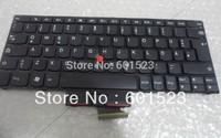 Free shipping notebook laptop keyboard for Thinkpad edge E120 E125 E220s X121E X130E E135
