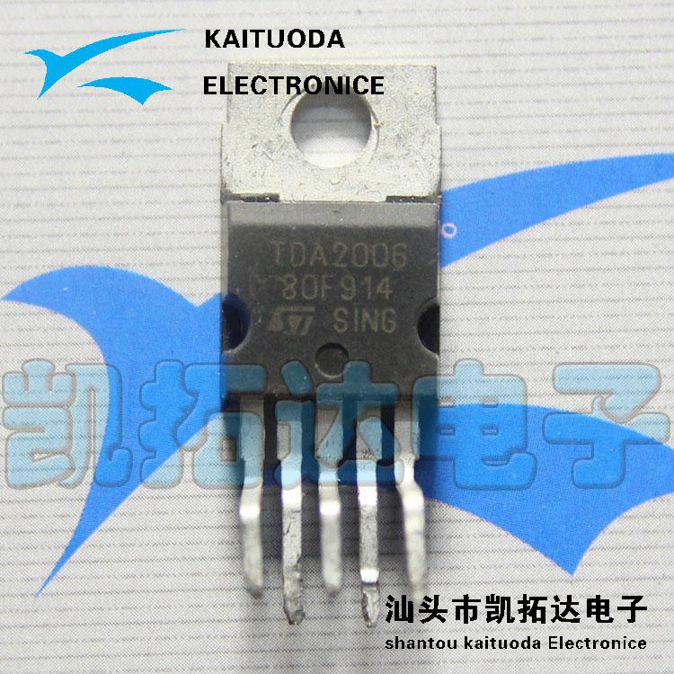 схема TDA2006(China