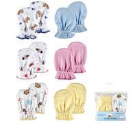 2-Pack Baby newborn Scratch Mittens,0-6 months