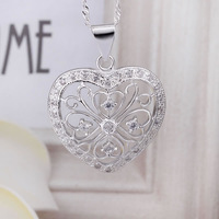 Free Shipping 925 Silver fashion jewelry Necklace pendants Chains, 925 silver necklace N367 fashion necklace zijr nphl
