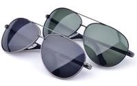 2014 New Free Shipping Classic Aviator Glasses Fit Polarized Lens Sunglasses Brand Designer Men Cool Sports Cycling Eyewear+Box