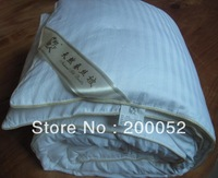 OEM Pure Silk Blanket 140*205cm 1.2kg Silk Filling with Cotton Cover Freeshipping