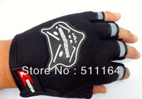 HOT 2014 Free Shipping Gym Body Building Training Fitness Gloves Sports For Men And Women Half Finger Racing Gloves