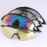 2014 New Brand Sunglasses Cycling Eyewear Men Outdoor Sports Sun glasses Eyeglasses Fashion Driving Mirror+Box Free Shipping