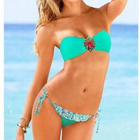 new design women swimwear fashion brand bikini victoria swimwear for lady bathing suits