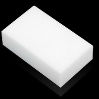 50pcs White Magic Melamine Cleaner Eraser Sponge Size 10x6x2cm Kitchen Desk Table Car Helper