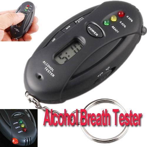 Digital LCD Alcohol Tester Analyzer Breath Breathalyzer ( H17 ), , dropshipping(China (Mainland))