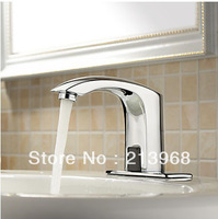 4 Inch Brass Bathroom Sink Faucet with Automatic Sensor (Cold) ,good quality tap