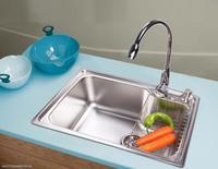Stainless steel sink water monocolpate vegetables basin monocolpate bundle 66014