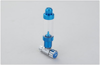 Aluminum Precise CO2 Regulator valve + bubble counter & check valve for aquarium plants