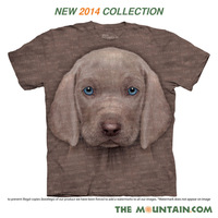 Free shipment 2014 puppydom the mountain wilmore basic shirt women's short-sleeve  dog T-shirt