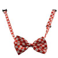 Dogloveit Pet Puppy Cat Dog Bow Tie Lattice Chess Style Adjustable Bowtie Fashion Accessories for Pet Dog Cat