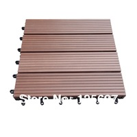 Free Shipping WPC Decking Tiles WPC DIY Decking Tiles