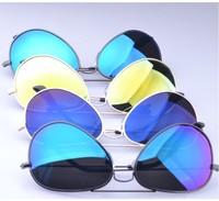 New 2014 Unisex Metal Retro Oversize Yurt Polarized Sunglasses Men Brand Fashion Driving Glasses Outdoor Cycling Eyewear+Box