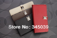 new 2014 Leather Wallet Stand Design Case for lenovo p780 Phone Bag Luxury Cover Free gifts free shipping