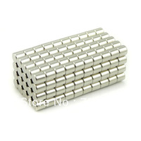 100pcs Neodymium Disc Mini 4X 4mm Rare Earth N35 Strong Magnets Craft Models N35 Magnet