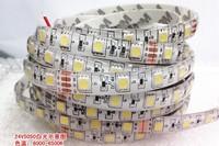 Free shipping 24v5050led smd led with 24v5050 waterproof white led strip 24v waterproof white light truck belt