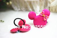 Fashion Baby Girls Kids Children Cartoon  Minnie with Dot Bows hair bands/ Headwear / Hair accessories Multicolor Free shipping