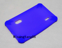 """Purple 7"""" Silicone rubber case For 7 inch A20X A20 8850 Dual core Tablet PC MID 10 Colors+Free Shipping+Drop shipping"""